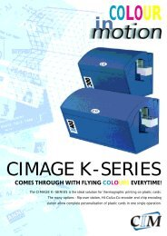 CIMAGE K-SERIES - Delfi Technologies