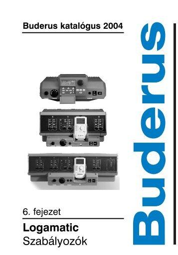 Buderus katalógus 2004