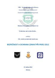 BOZP 2012 - Výzkumný ústav bezpečnosti práce, v.v.i.