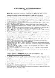 BENEDICT MIHÁLY független hivatkozásainak listája 2008 ...