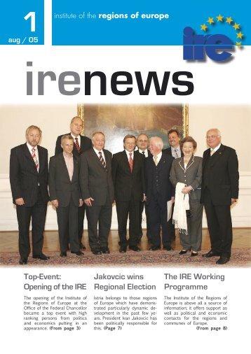 Regions of Europe - Institut IRE