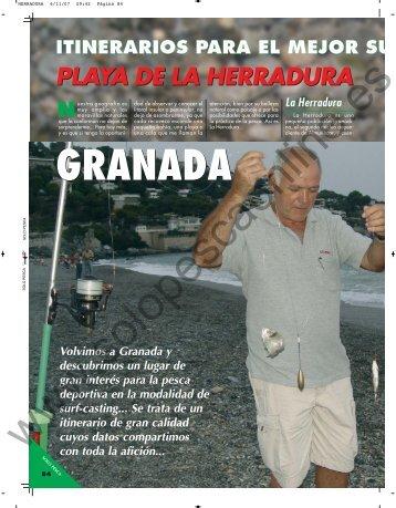 GRANADA - Solopescaonline.es
