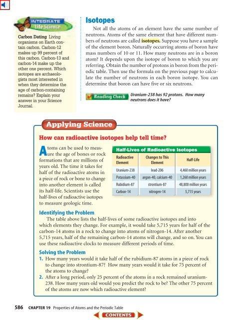 dating med hjälp av uran-238 isotoper