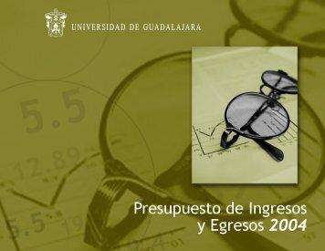 Presupuesto 2004 - Coordinación General Administrativa ...