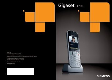 Gigaset SL78H - Voip and Go