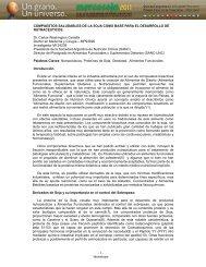 COMPUESTOS SALUDABLES DE LA SOJA ... - Mercosoja 2011