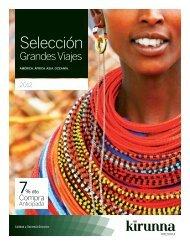 En este catálogo te mostramos una selección de destinos y ...