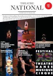 FESTIVAL XS theatre | danse | musique | cirque - Théâtre National