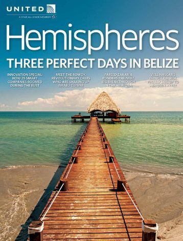 Belize Featured In United Airlines Inflight Magazine ... - Belize Yellow