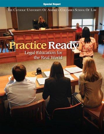 Practice Ready - Spring/Summer 2010 - Columbus School of Law