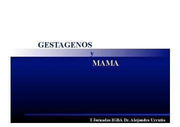 Distintos Gestágenos - IGBA