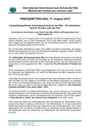 PRESSEMITTEILUNG, 17. August 2012 - bei der Internationalen ...
