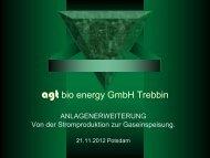 Biomethanerzeugung im landwirtschaftlichen ... - ETI-Brandenburg