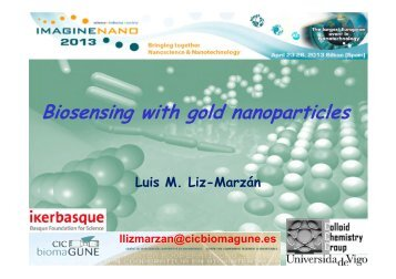 Biosensing with gold nanoparticles