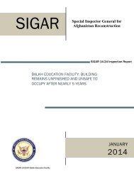 SIGAR_Inspection_14-24