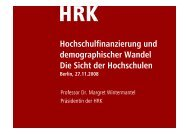 Vortrag von Prof. Dr. Margret Wintermantel (pdf) - CHE Consult