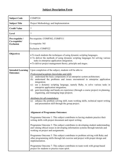 COMP324 Project Methodology and Implementation