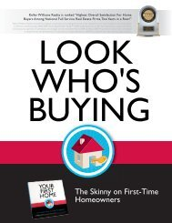 The Skinny on First-Time Homeowners - Keller Williams Realty
