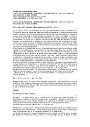 DFL-850 - Coordinación de Concesiones de Obras Públicas