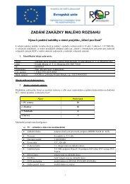 2009-06-05 ROP Výbìrové øízení PC - ZŠ národního umělce Petra ...