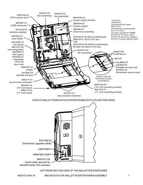 Merit Megatouch Wiring Diagram