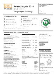 Jahreszeugnis 2010 - Breisgau Kompost GmbH