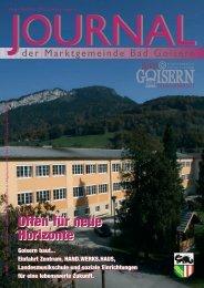 Gemeinde Journal 3 - Bad Goisern - Land Oberösterreich