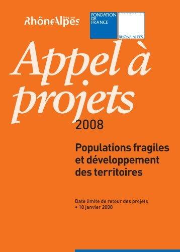 Populations fragiles et développement des territoires - Drôme des ...