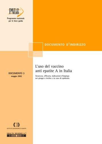 Il documento (formato pdf) - Sistema Nazionale Linee Guida