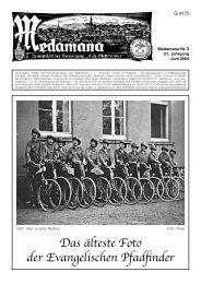 100 Jahre KHG - Erinnerungen der Ehemaligen - Aule Mettmanner