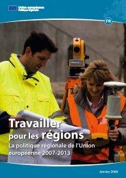 Travailler pour les régions - European Commission - Europa