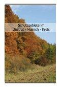 Schutzgebiete im Unstrut - Hainich - Kreis - Seite 3