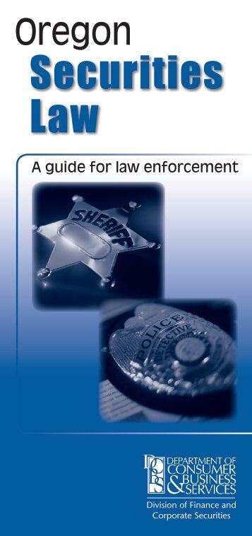 Guide for law enforcement officers