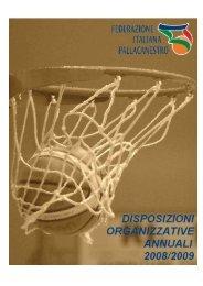 Disposizioni Organizzative Annuali - Federazione Italiana ...