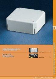 Dati tecnici. Technical data. - Electricalservices-co.com
