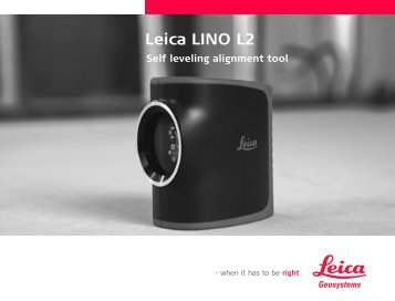 Leica LINO L2 - Distoleica.it