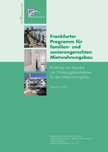 Frankfurter Programm für familien - Krieger + Schramm
