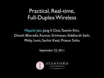 Practical, Real-time, Full-Duplex Wireless