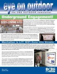 Underground Engagement! - CBS Outdoor