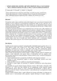 APPLICAZIONE DEL SISTEMA ARCVIEW-CROPSYST ... - sipeaa
