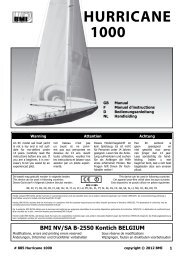 HURRICANE 1000 - BMI-models