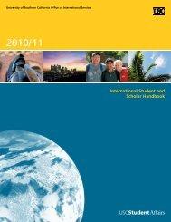 International Student and Scholar Handbook - USC Student Affairs ...
