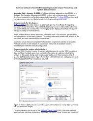 Perforce Software's New SCM Release Improves Developer ...