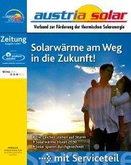 Solarwärme am Weg in die Zukunft! - Austria Solar
