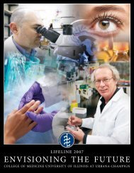 envisioning the future - College of Medicine - University of Illinois at ...