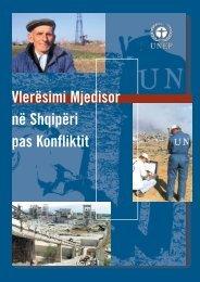 Vlerësimi Mjedisor në Shqipëri pas Konfliktit - UNEP