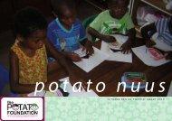 UITGAWE EEN EN TWINTIG: MAART 2013 - The Potato Foundation