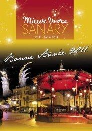 Mieux Vivre N°141 - Janvier 2011 (.pdf - 2,10 Mo) - Sanary-sur-Mer