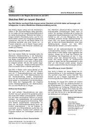 Region Zürichsee Juli 2011 (PDF, 37 kB) - Amt für Wirtschaft und ...