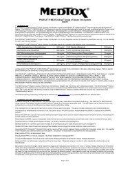 PROFILE®-V MEDTOX Scan® Drugs of Abuse Test System